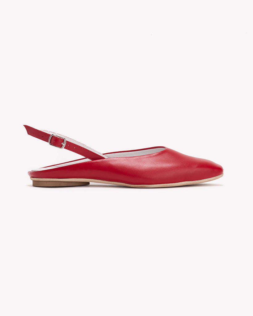 Libby - Block Toe Slingbacks