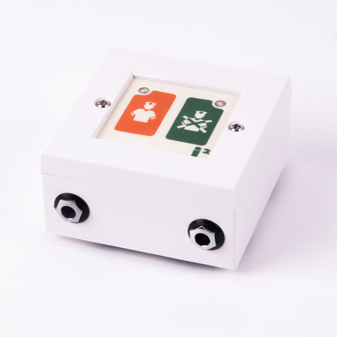 i2 Wireless Call Point Replacement Back Box - Nursecall Shop
