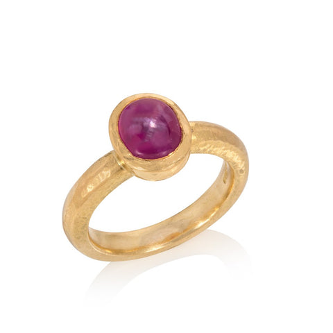 'Star' Ruby Ring