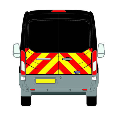 Ford Transit Mk5 All Roofs 2014-present chapter8 chevron kit