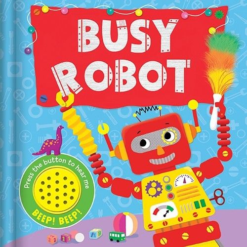 Baby/kids Busy Robot Sound book NEW!!!!