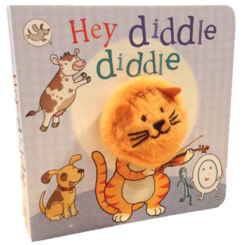 baby/kids HEY DIDDLE DIDDLE FINGER PUPPET BOOK