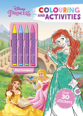 Disney Princess Colouring and activities
