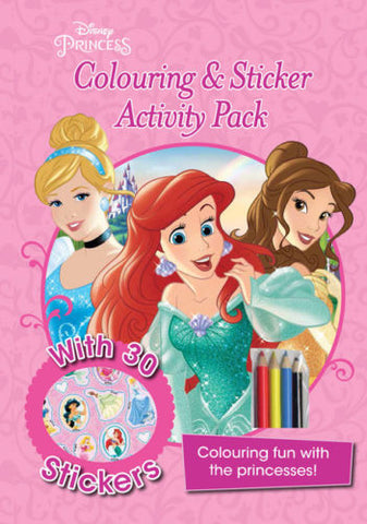 Disney Princess Colouring and sticker activity pack NEW!!!