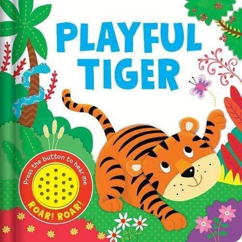 Baby/kids Playful Tiger Sound book NEW!!!!
