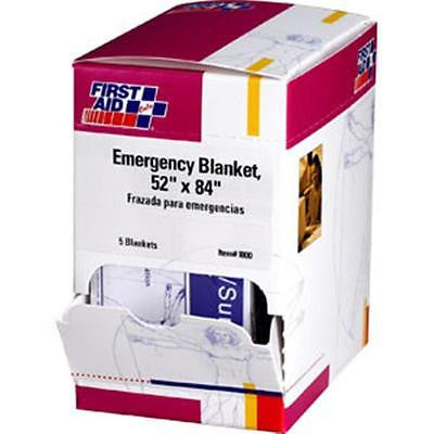 (5) Emergency Thermal Blankets