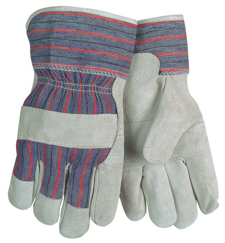 (12 Pairs) Gunn Leather Palm Gloves (L)