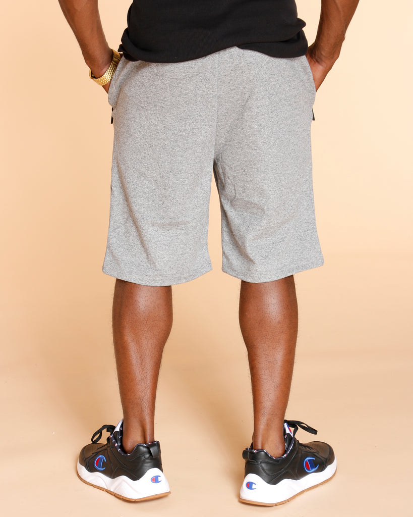 VIM Marled Tech Fleece Shorts - Grey - Vim.com