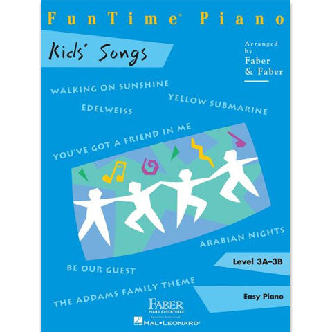 Faber-FunTime-Piano-Level-3A-3B-Kids-Songs