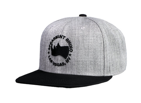 High Profile Flat Bill Hat
