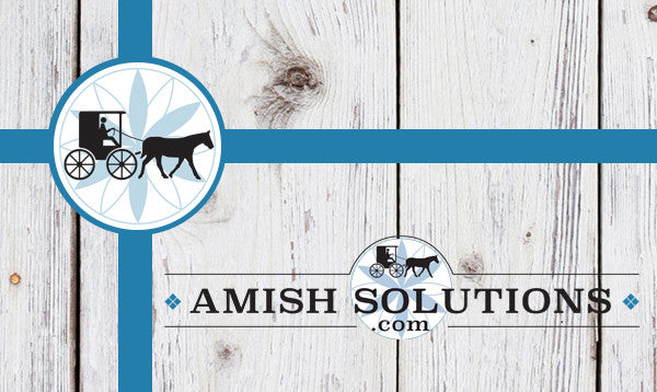 Amish Solutions Gift Card