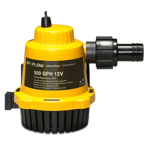 Pompes de cale de type Pro-Line JOHNSON PUMP