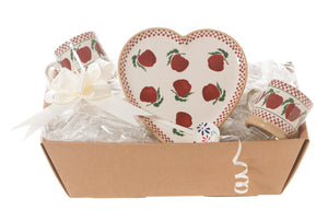 Nicholas Mosse Heart Gift Set In Apple