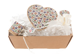 Nicholas Mosse Heart Gift Set In Wildflower Meadow