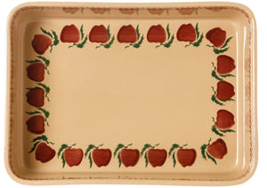 Large Rectangular Oven Dish Apple