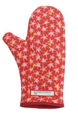 Nicholas Mosse Oven Gauntlet Lawn Red