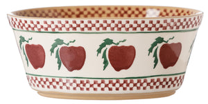 Small Oval Pie Dish Apple