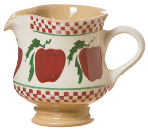 Small jug Apple spongeware pottery by Nicholas Mosse Pottery - Ireland - Handmade Irish Craft.