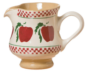 Tiny jug Apple spongeware pottery by Nicholas Mosse Pottery - Ireland - Handmade Irish Craft.