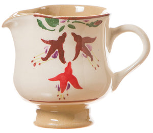 Tiny jug Fuchsia spongeware pottery by Nicholas Mosse Pottery - Ireland - Handmade Irish Craft.