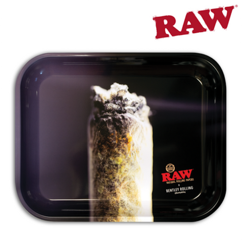 RAW ROLLING TRAY – BENTLEY ROLLING - Tha Bong Shop