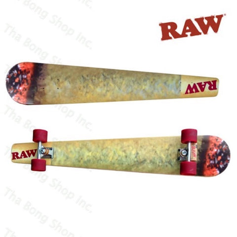 RAW SKATEBOARD CONE CUSTOM JOINT - Tha Bong Shop