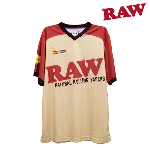 RAW SPORT JERSEY SHORT SLEEVE - Tha Bong Shop