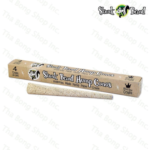 SKUNK KING SIZE HEMP CONES - Tha Bong Shop