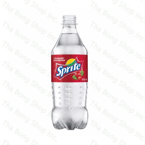 Canadian Cranberry Sprite 500ml Bottle - Tha Bong Shop
