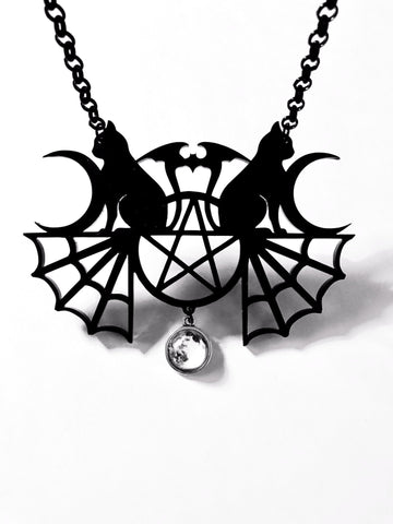 Bats in the Birdcage Layered Necklace