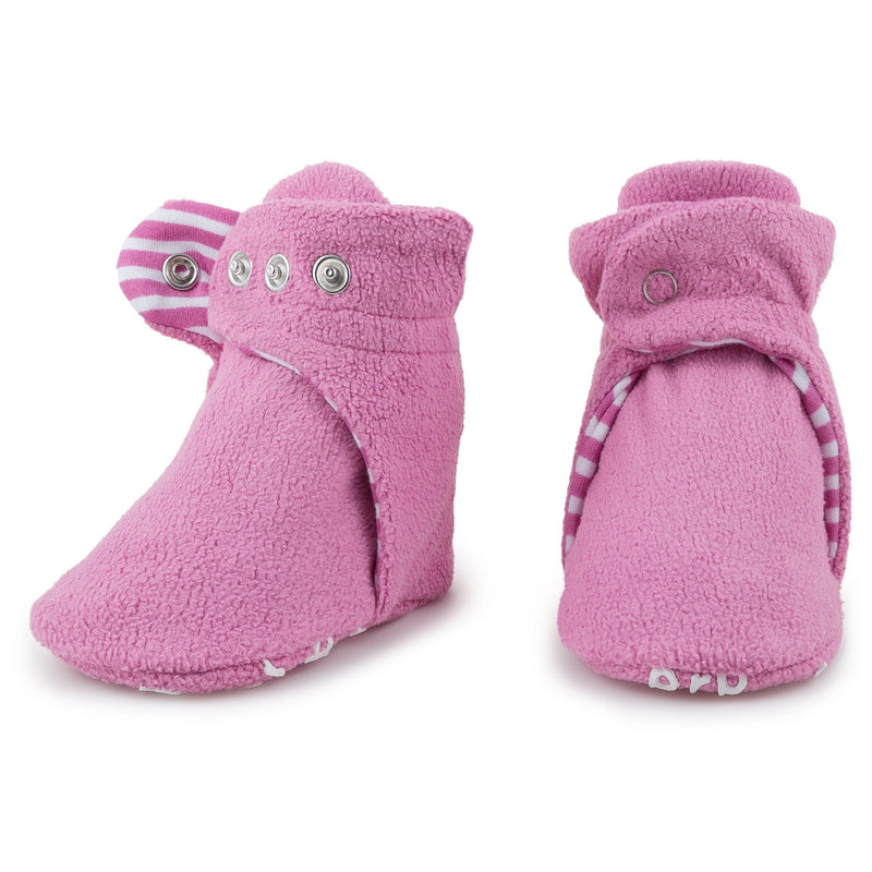 Baby Cotton Candy Pink Bootie