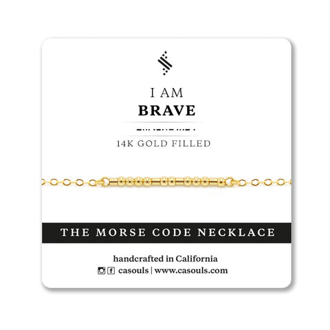 BRAVE - EMPOWERING NECKLACE
