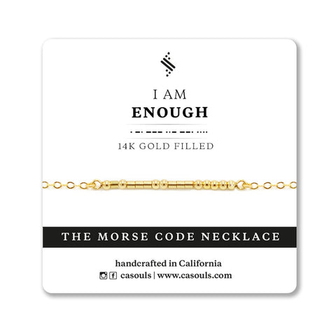 ENOUGH - EMPOWERING NECKLACE