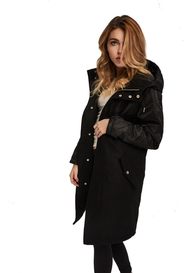 Just Female Every Coat (Black) - ChicStyle
