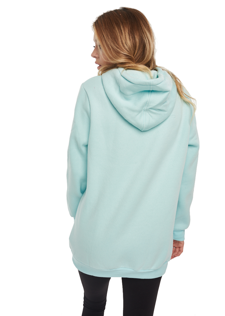 Glamorous Good Luck Sweater (Light Blue) - ChicStyle