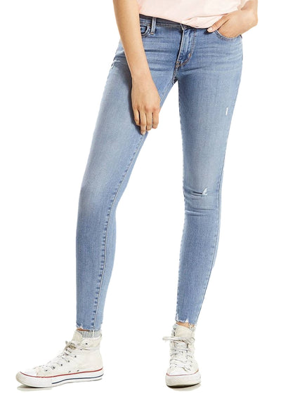 Levi's 710 Super Skinny (Rain Drop Day/Lightblue) - ChicStyle