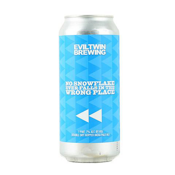 Evil Twin No Snowflake Ever Falls In The Same Place (475ml can)