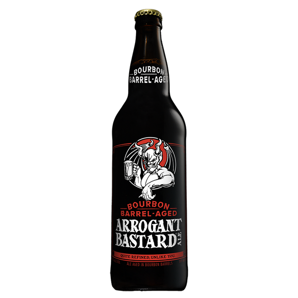 Stone Arrogant Bastard - Bourbon Barrel Aged | Bucket Boys Craft Beer