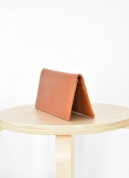 Travel Wallet, Burnt Orange