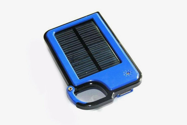 Clip-On Solar Power Charger - Phonebibi