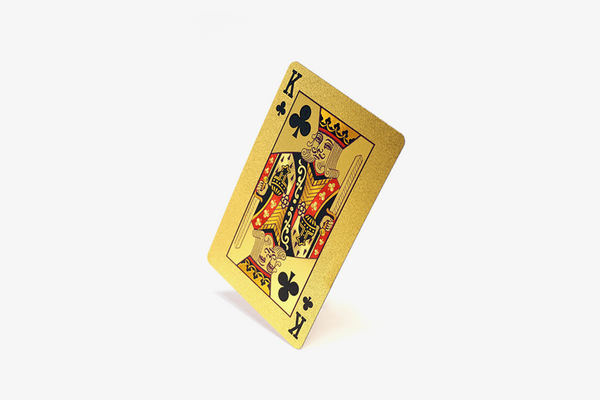 Premium 24K Gold Foil Playing Cards