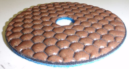 Diamond Polishing Pads, EXPell 5-Inch DRY