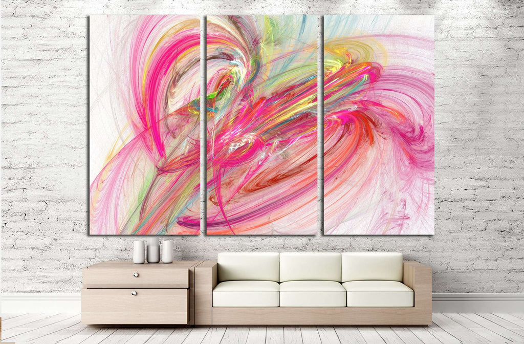 abstract illustration №2745 Ready to Hang Canvas Print