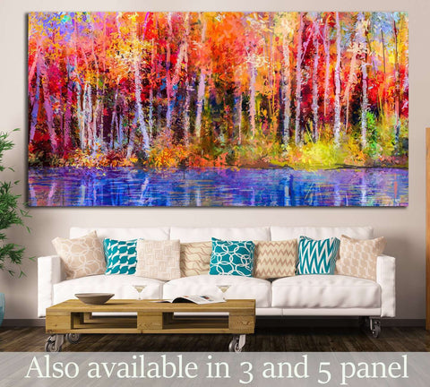 Oil painting №1078 Ready to Hang Canvas Print