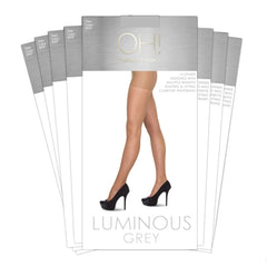 Luminous Grey 8 Pack - Oohlalaa Hosiery!
