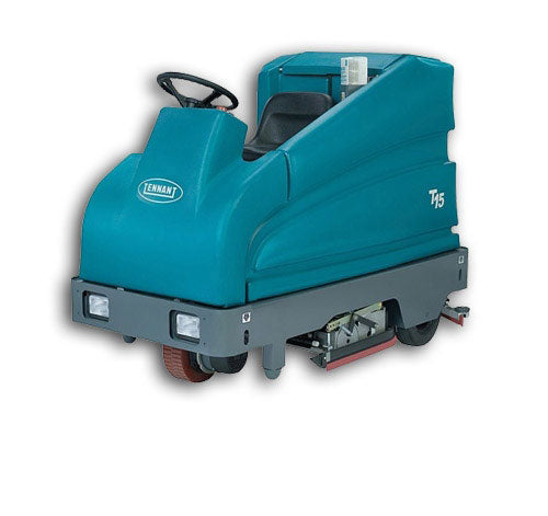"Refurbished Tennant T15 36"" Disk Battery Powered Rider Floor Scrubber"