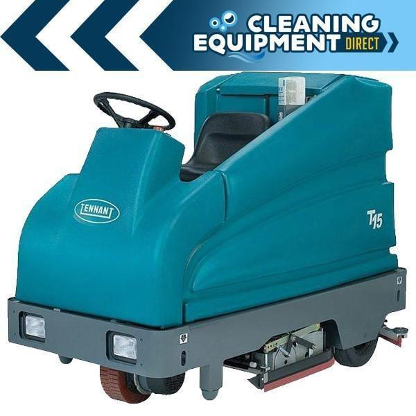 "Tennant T15 36"" Cylindrical Rider Scrubber - Refurbished"