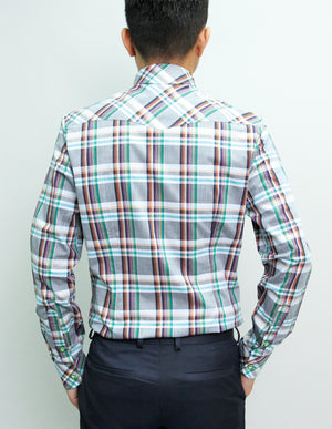 Long Sleeved Alister Plaid Shirt
