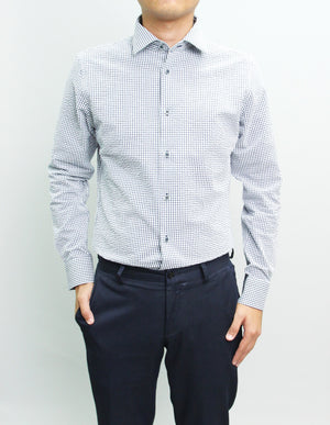 Long Sleeved Poesia Gingham Shirt
