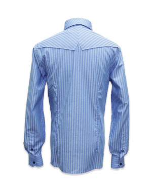 Long Sleeved Herringbone Shirt